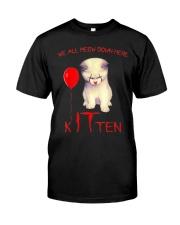 Halloween Kitten Classic T-Shirt front
