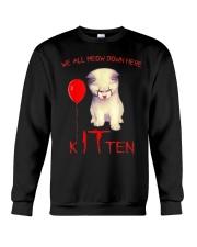 Halloween Kitten Crewneck Sweatshirt tile