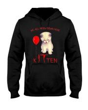 Halloween Kitten Hooded Sweatshirt tile