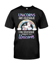 Unicorns are Awesome Premium Fit Mens Tee thumbnail
