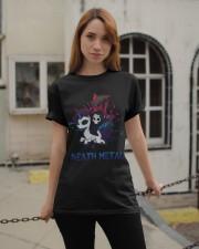 Unicorn Death Metal Classic T-Shirt apparel-classic-tshirt-lifestyle-19