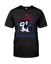Unicorn Death Metal Classic T-Shirt front