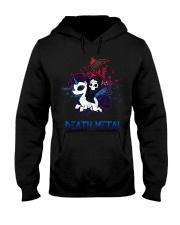 Unicorn Death Metal Hooded Sweatshirt thumbnail