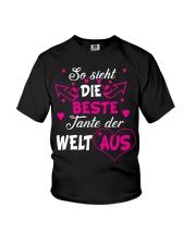 So sieht die beste Tante der Welt aus Youth T-Shirt thumbnail