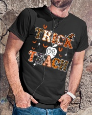 Trick or Teach Classic T-Shirt lifestyle-mens-crewneck-front-4