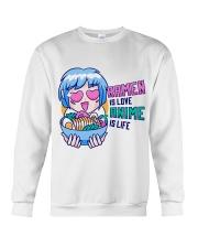 Ramen is Love Anime is Life Crewneck Sweatshirt tile