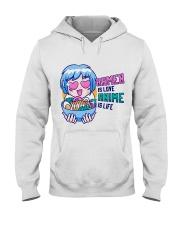 Ramen is Love Anime is Life Hooded Sweatshirt front