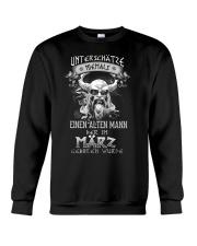 März Geboren Wurde Crewneck Sweatshirt tile