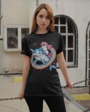 Unicorn Lovers Classic T-Shirt apparel-classic-tshirt-lifestyle-19