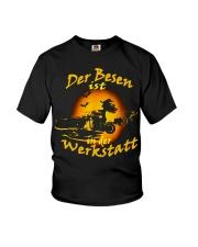 Der Besen ist in der Werkstatt Youth T-Shirt tile