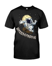 Spaceboarding Classic T-Shirt front