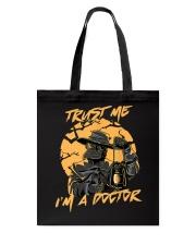 Trust Me I'm A Doctor Tote Bag tile