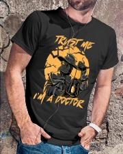 Trust Me I'm A Doctor Classic T-Shirt lifestyle-mens-crewneck-front-4