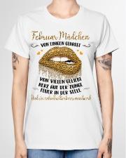 Februar Mädchen Ladies T-Shirt garment-tshirt-ladies-front-01