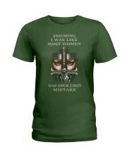 Swordwoman US T-shirt Ladies T-Shirt tile