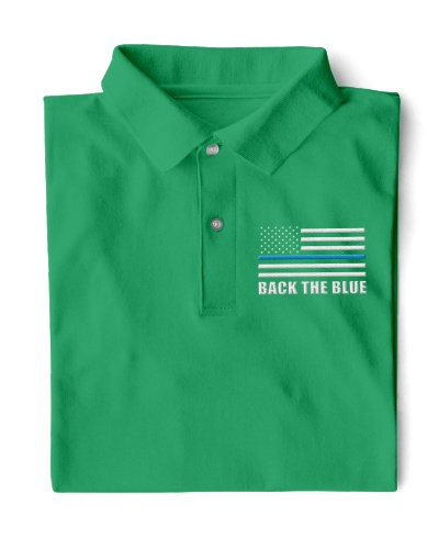 Back The Blue Embroidery Design Limited Edition