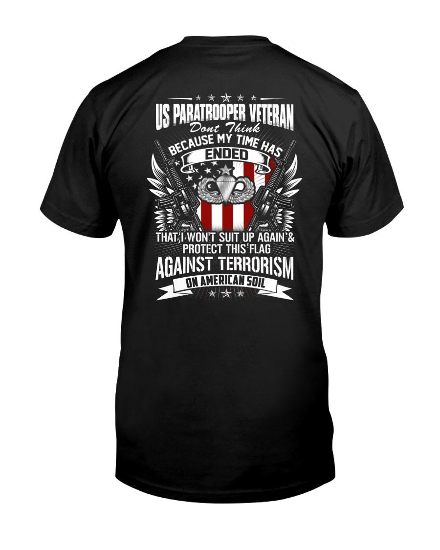 Paratrooper Veteran Classic T-Shirt