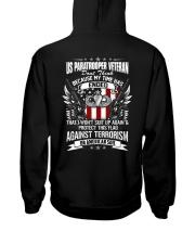 Paratrooper Veteran Hooded Sweatshirt thumbnail