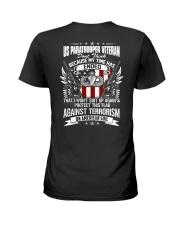 Paratrooper Veteran Ladies T-Shirt thumbnail
