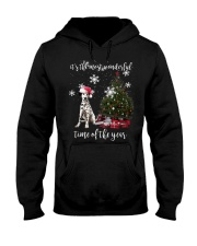 christmas Dalmatian Hooded Sweatshirt thumbnail