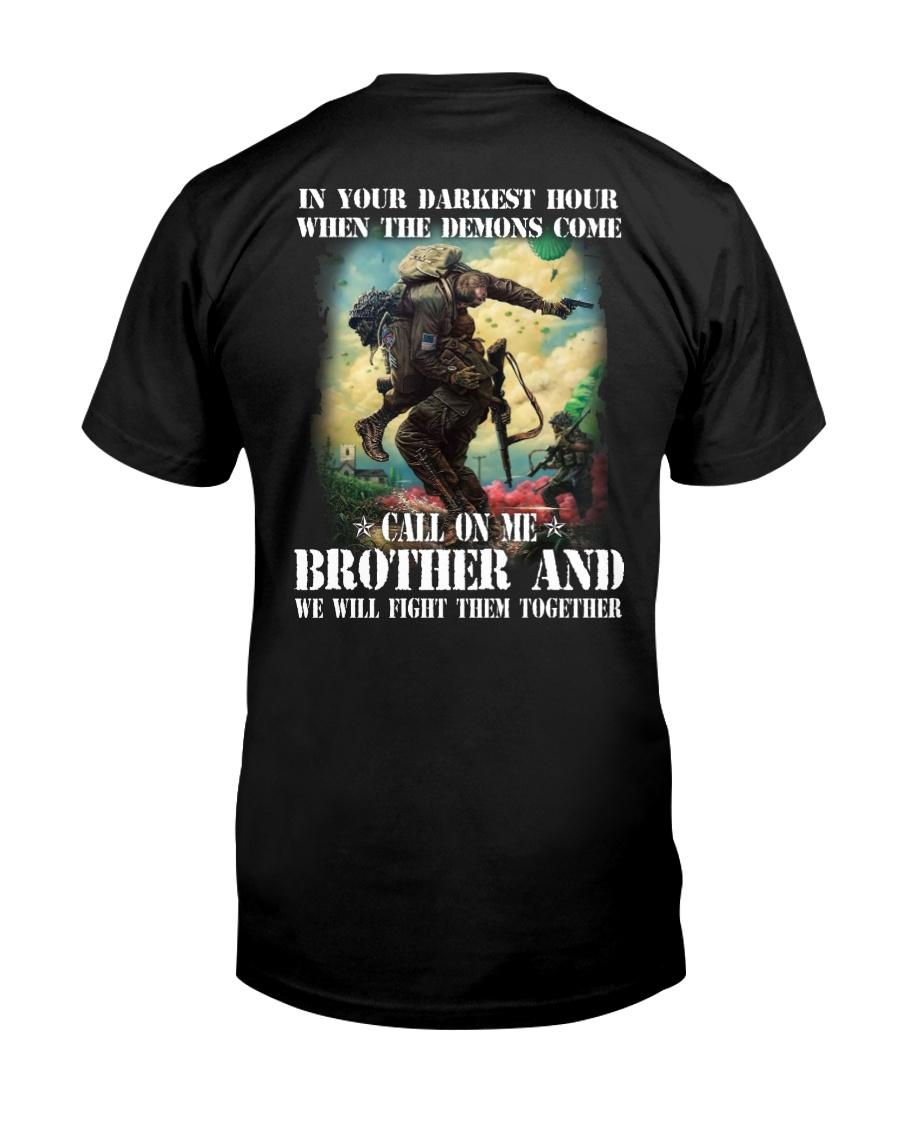 Blood Sweat and Tears Veteran Classic T-Shirt