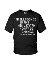 Stephen Hawking Limited Editon Youth T-Shirt tile