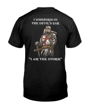 I AM THE STORM Limited Editon Classic T-Shirt back