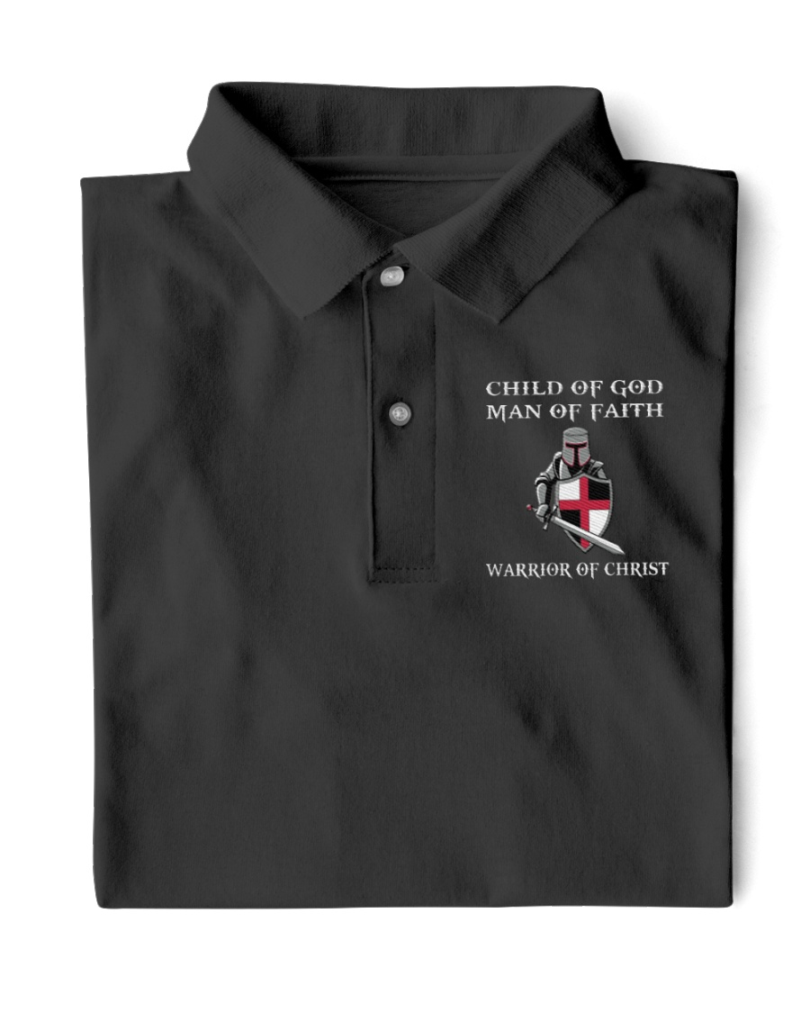 Warrior of Christ Limited Editon Classic Polo