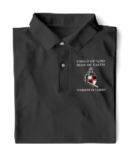 Warrior of Christ Knights Templar Limited Editon Classic Polo front
