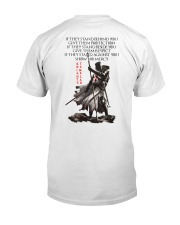 Show No Mercy Limited Editon Classic T-Shirt back
