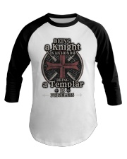 Knights Templar US T-shirt Baseball Tee thumbnail