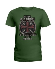 Knights Templar US T-shirt Ladies T-Shirt tile