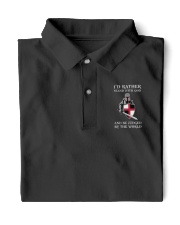 I STAND WITH GOD Limited Editon Classic Polo front