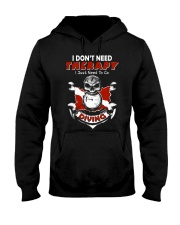 I Just Need To Go Diving Hooded Sweatshirt thumbnail