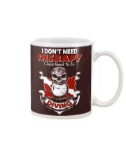 I Just Need To Go Diving Mug thumbnail