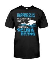 When Im Scuba Diving Classic T-Shirt front