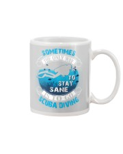 Stay Sane Is To Go Scuba Diving Mug thumbnail