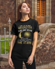 I AM THE DAUGHTER OF SUN AND MOON Classic T-Shirt apparel-classic-tshirt-lifestyle-06