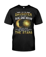 I AM THE DAUGHTER OF SUN AND MOON Classic T-Shirt front