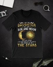 I AM THE DAUGHTER OF SUN AND MOON Classic T-Shirt lifestyle-mens-crewneck-front-16