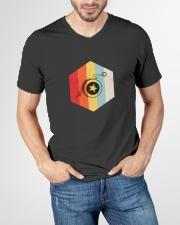 YoYo Lovers Shirt V-Neck T-Shirt garment-vneck-tshirt-front-lifestyle-01