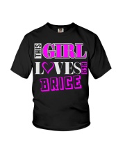 GIRL LOVES HER BRICE SHIRTS Youth T-Shirt thumbnail