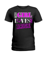 GIRL LOVES HER BRICE SHIRTS Ladies T-Shirt tile