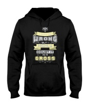 MAY BE WRONG GROSS THING SHIRTS Hooded Sweatshirt thumbnail