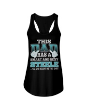 DAD HAS SEXY STEELE THING SHIRTS Ladies Flowy Tank thumbnail