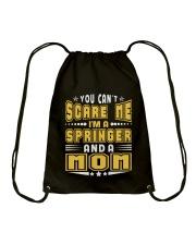 I AM SPRINGER AND A MOM NAME SHIRTS Drawstring Bag thumbnail