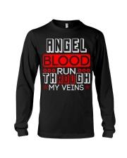 ANGEL Blood Run Through My Veins Long Sleeve Tee thumbnail