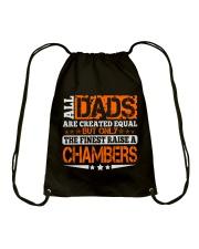 FINEST DAD RAISE CHAMBERS NAME SHIRTS Drawstring Bag thumbnail