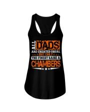 FINEST DAD RAISE CHAMBERS NAME SHIRTS Ladies Flowy Tank thumbnail
