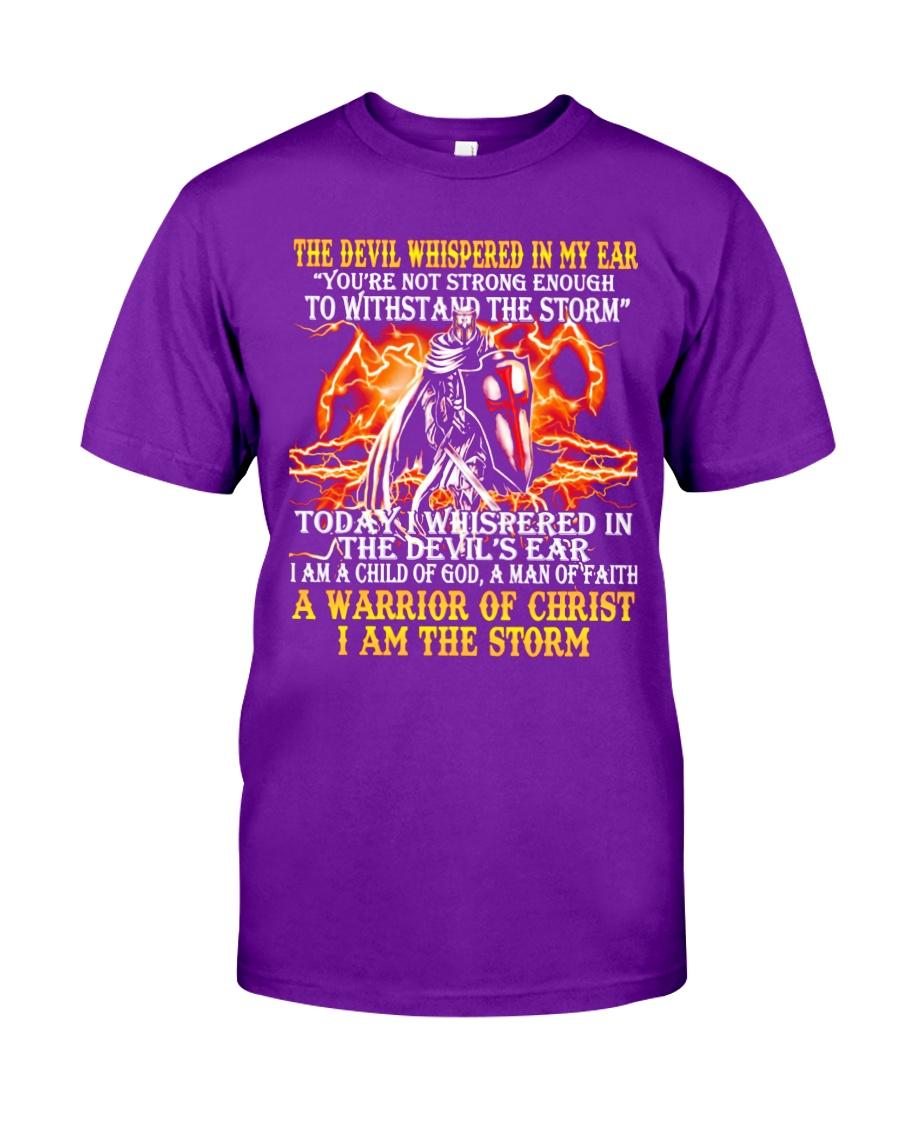 The Devil Whispered Classic T-Shirt